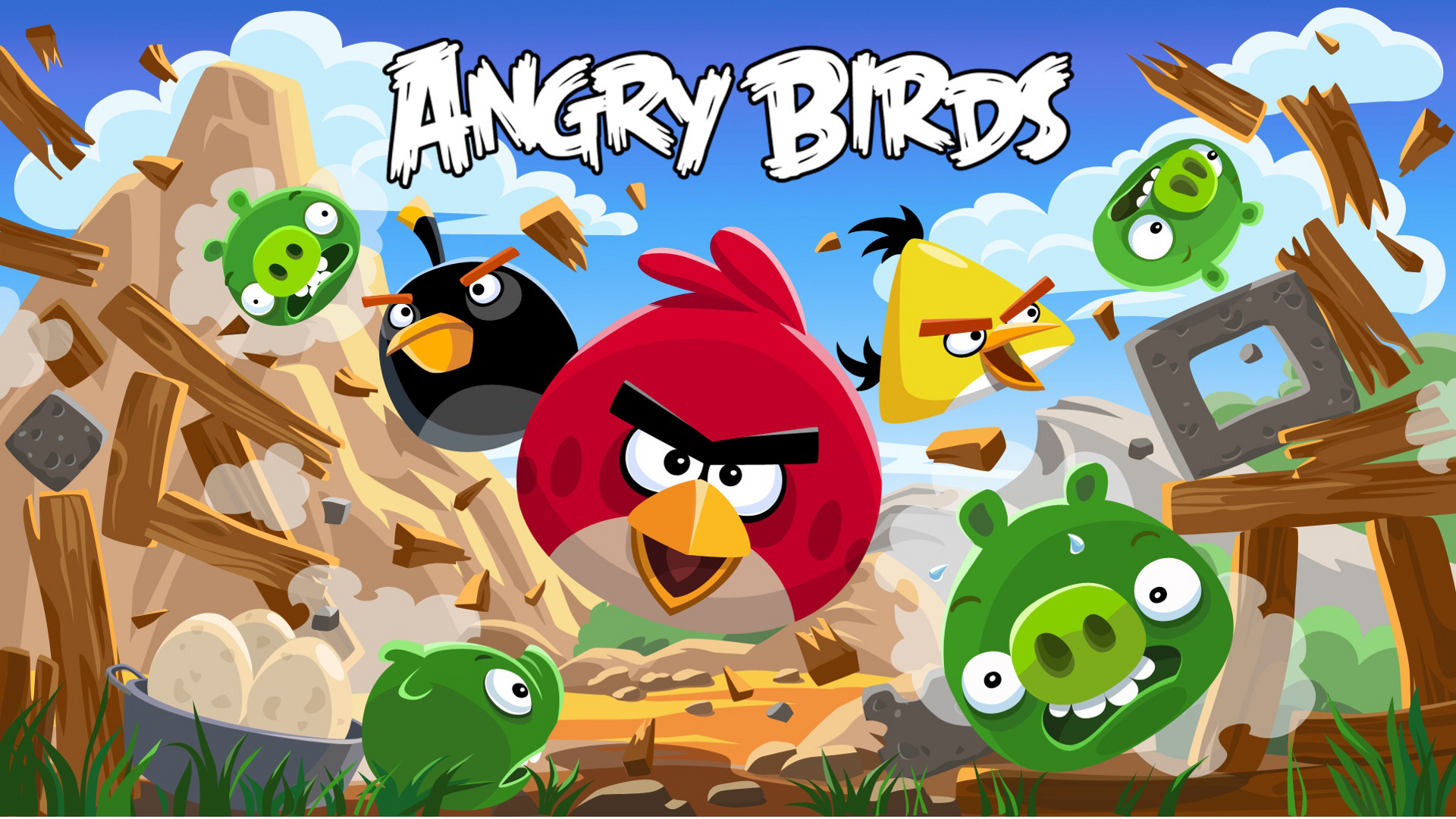 Angry Birds New Tab for Google Chrome