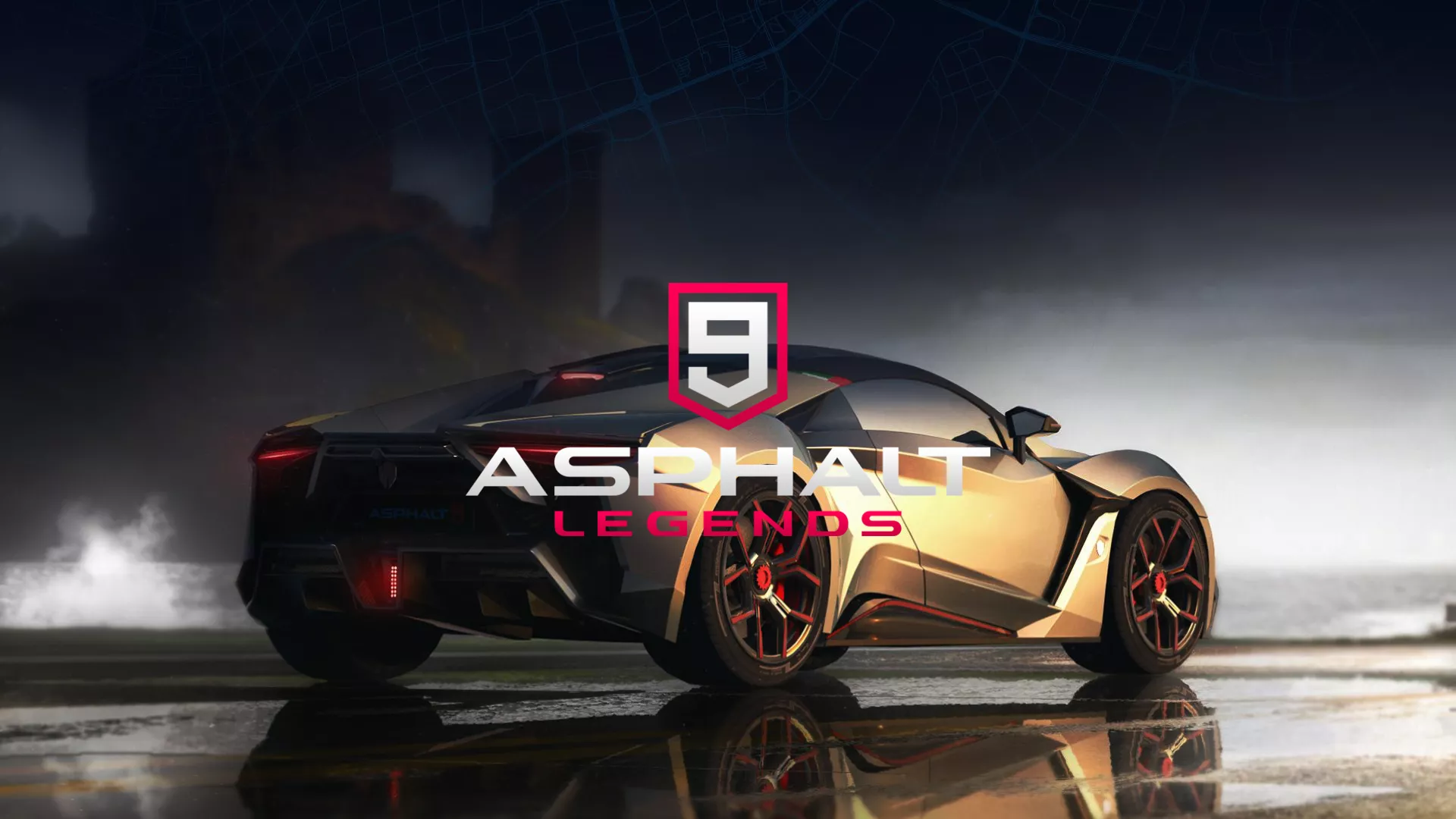 Asphalt 9 Legends New Tab for Google Chrome