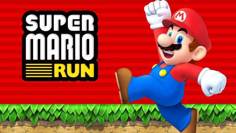 Super Mario Run New Tab for Google Chrome