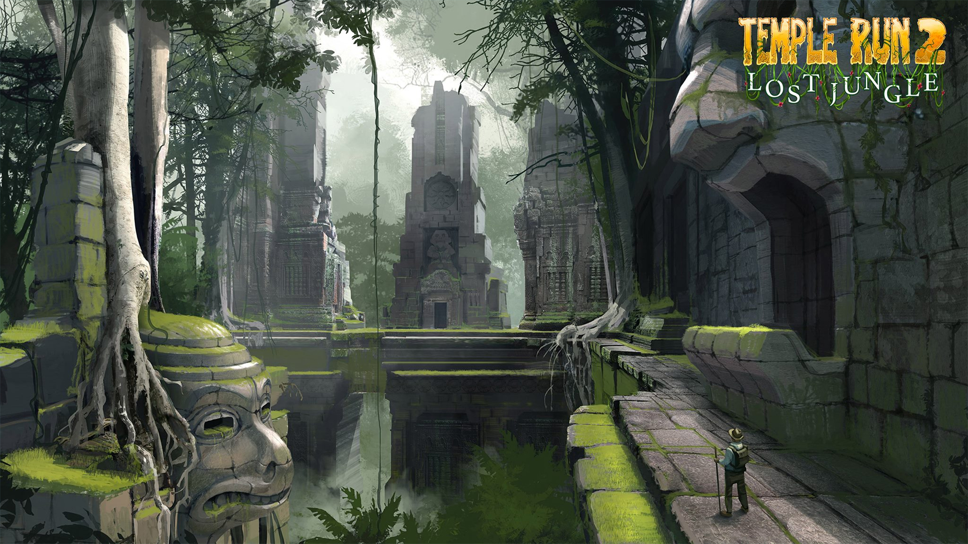 Temple Run 2 New Tab for Google Chrome