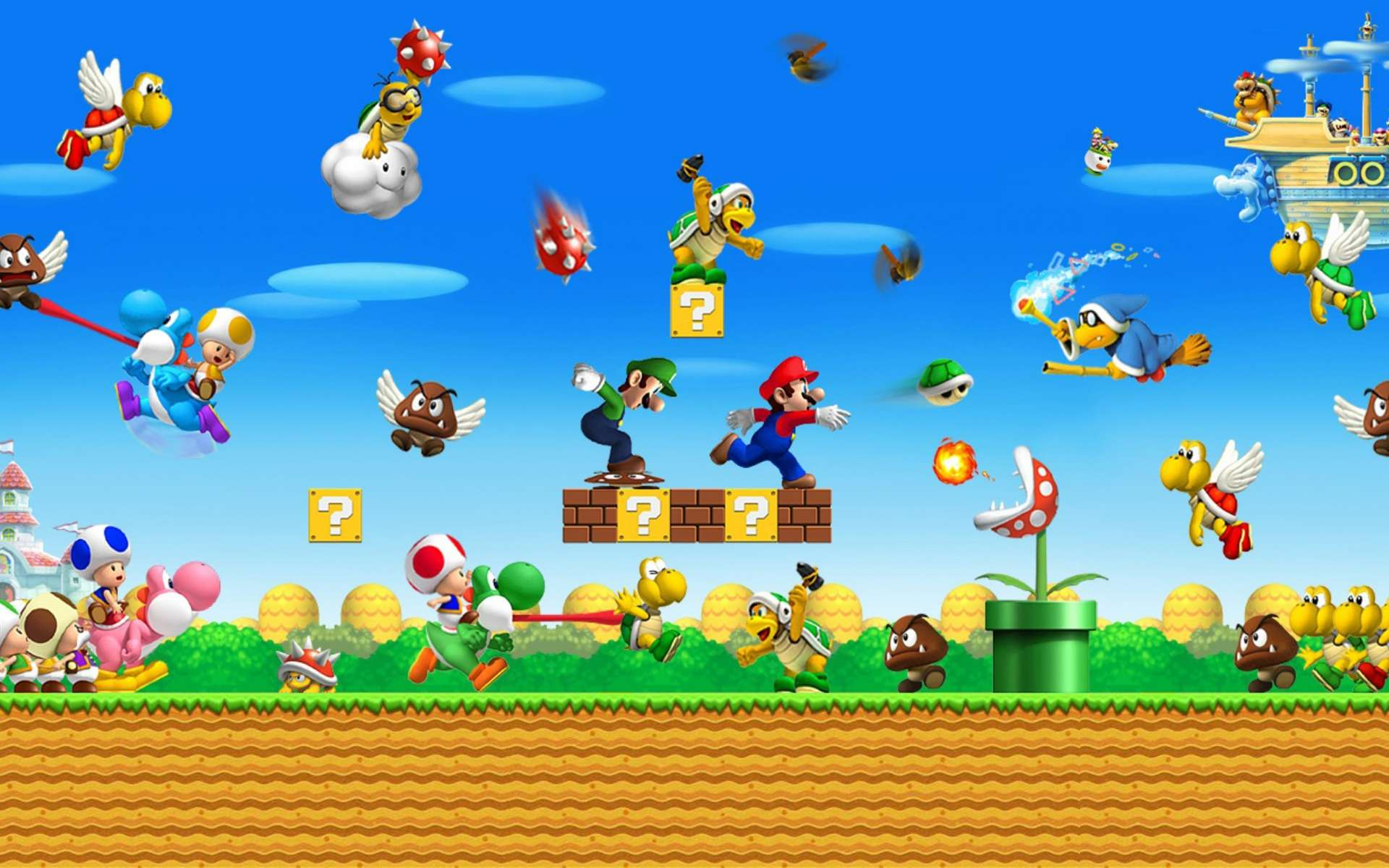 Super Mario New Tab for Google Chrome