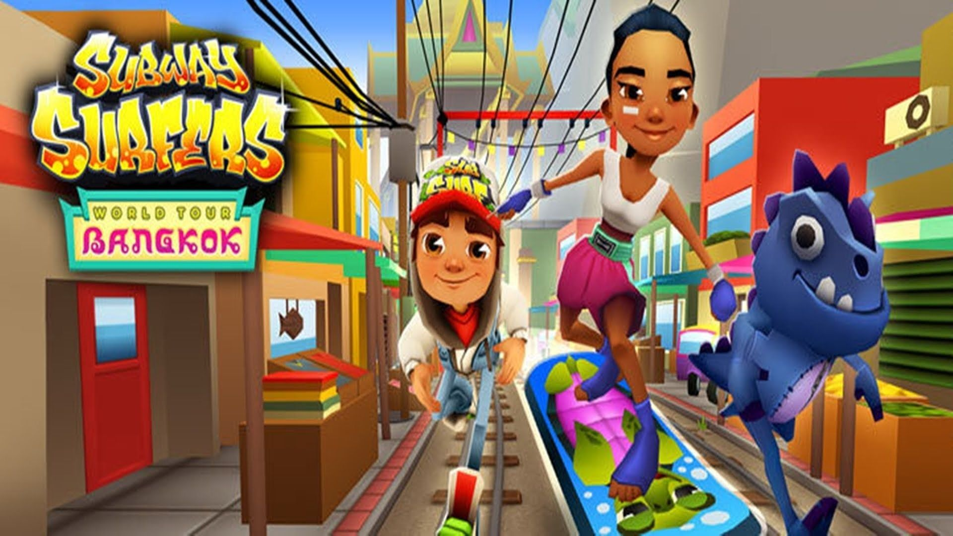 Subway Surfers New Tab for Google Chrome